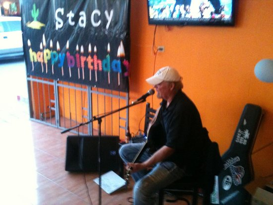 The Wet Cactus Cantina & Grill: Live music