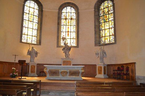 Saint-Vincent -- Saint-Malo : Unique tabernacle