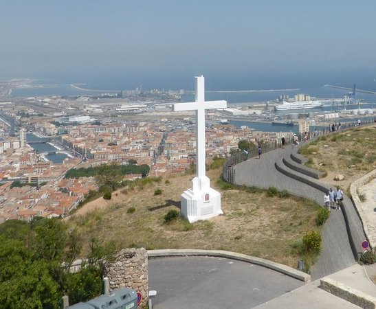 Sete, France: View from the top
