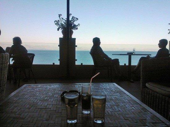 Aeolos Beach Resort : biew from lobby veranda