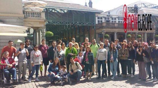 SANDEMANs NEW Europe - London: Esta es la foto que nos hizo la guía Cristina