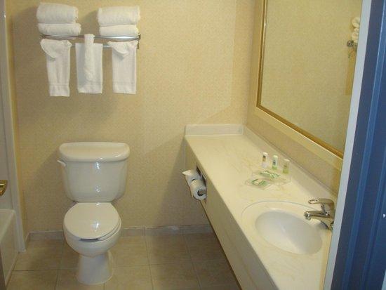 Country Inn & Suites By Carlson, Newark Airport: Bathroom
