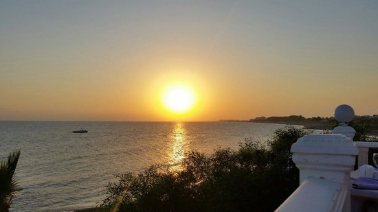 Sentido Flora Garden: Breathtaking sunset.