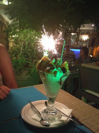 """Oinos : The """"special""""dessert!!! Amazing!"""