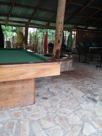 The Surf Sanctuary: Pool table, ping pong, and bar