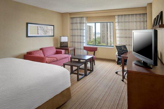 Courtyard by Marriott Jersey City Newport: Guest Room