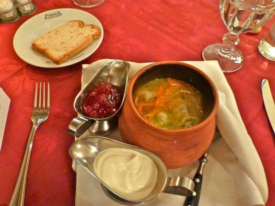 Restaurant Troika: Bear Dumplings