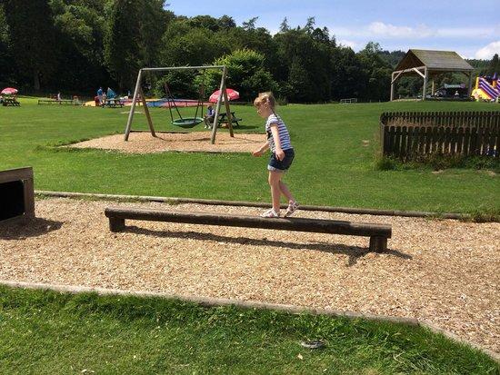 Mabie Farm Park: Mini kids assault course