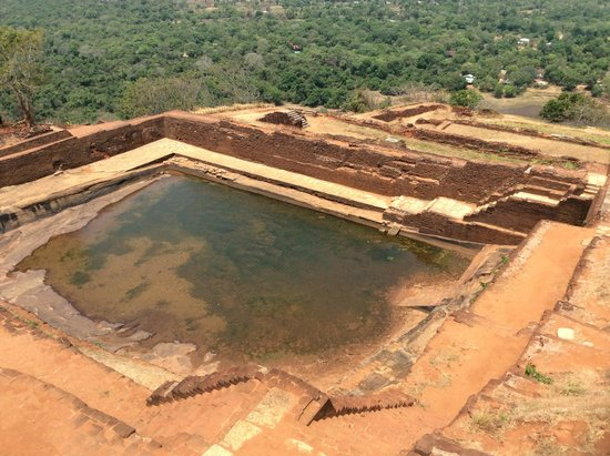 Sigiriya World Heritage Site: at the top of the rock