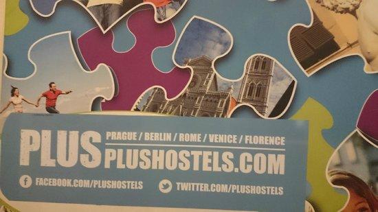Plus Florence: Entrada do Hostel