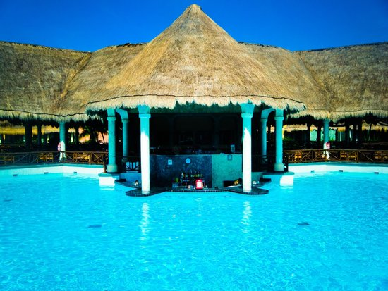 The Royal Suites Yucatan by Palladium: Swim up bar