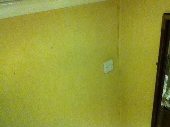 Exmoor White Horse Inn: damp