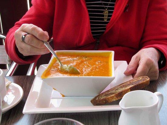 Rel-ish: creamy something soup del-ish