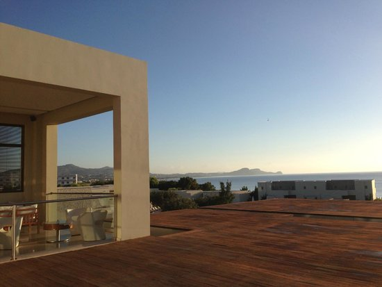 SENTIDO Port Royal Villas & Spa: View from Terrace where entertainment is located