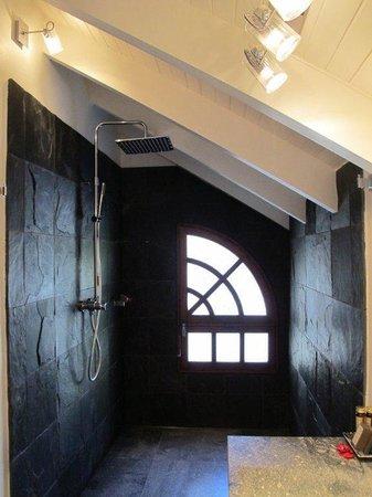 Hotel L'Esplanade : Over-sized loft: Shower