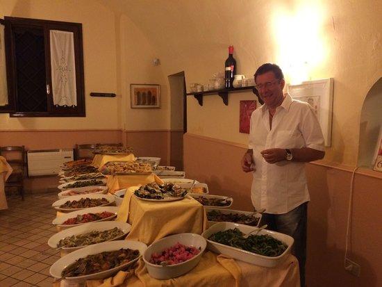 Villa Excelsa: Antipasti