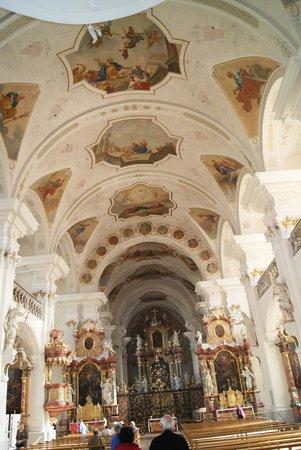 Church of St Peter im Schwarzwald: Die fresken an der Decke