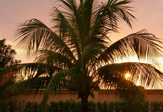 Iberostar Grand Hotel Rose Hall: Sunset from our room
