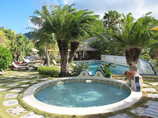 Hotel L'Esplanade: Pool area