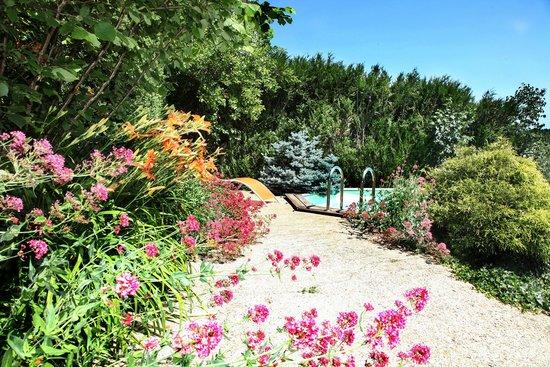 Domaine de la Rhonie : Le parc