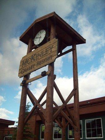 McKinley Chalet Resort : Clock Tower