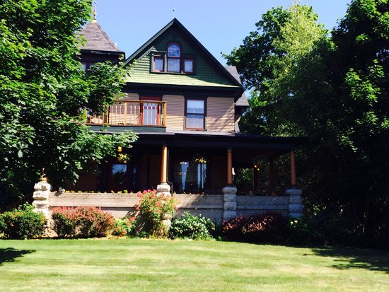 Scofield House Bed and Breakfast : Picture of the Scofield House