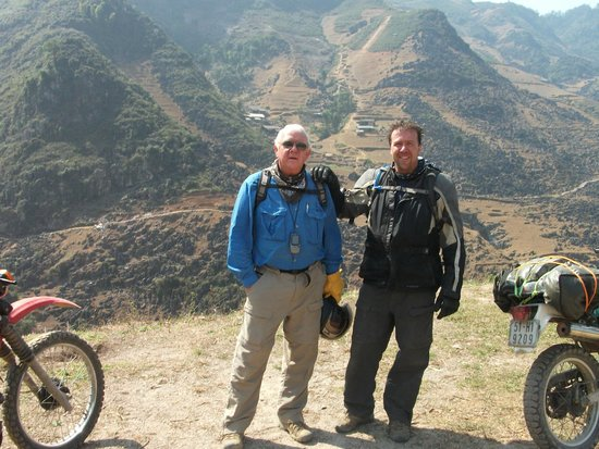 MotoTours Asia: Ha Giang Province - two Phil's