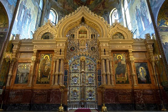 Church of the Savior on Spilled Blood: Iconostasis, Church of Our Savior on Spilled Blood