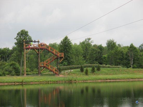 Branches of Niagara Campground & Resort : zip line