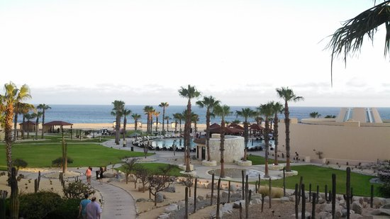 Pueblo Bonito Pacifica Golf & Spa Resort: view of grounds from room 1424 (2nd floor)...very nice