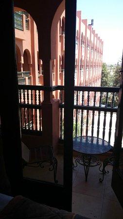 Hotel El Andalous: terraza de la habitación