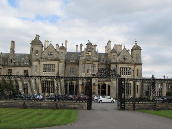 Stoke Rochford Hall: impressive