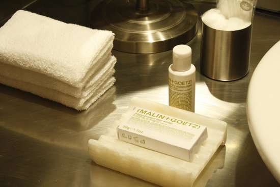 Hotel Habita: Toiletries
