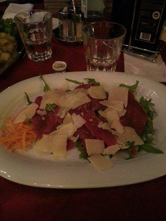 Ristorante Vecchia Fontana: Carne salada