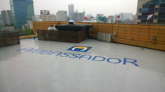 Grand Ambassador Seoul: View from room
