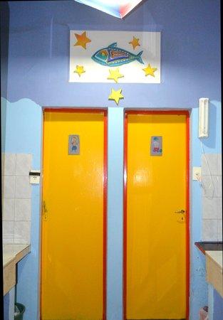 Casa Pueblo Hostel: Bathrooms