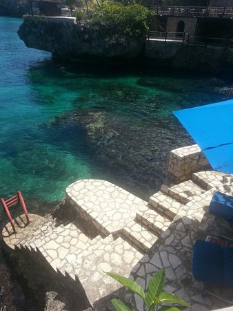 Rockhouse Hotel: Amazing view from our room #13