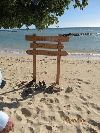 Castaway Island Fiji: wedding day