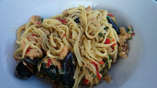 Dylan's: seafood pasta