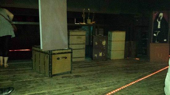 The Rose Theatre: Set, post show