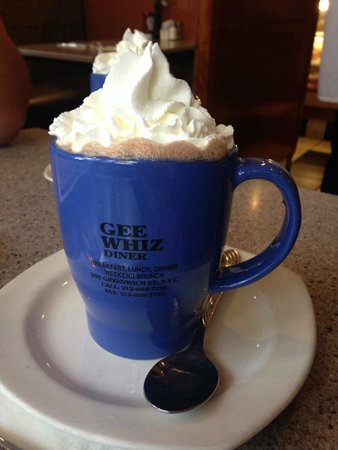 Gee Whiz Restaurant: Hot Chocolate