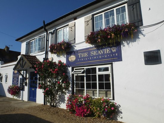 The Seaview Hotel: Front of Pub