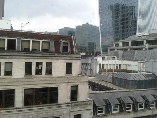 Club Quarters Hotel, Gracechurch: view from the window