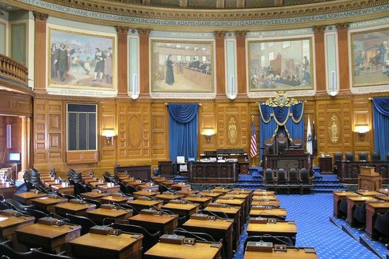 Massachusetts State House : The house
