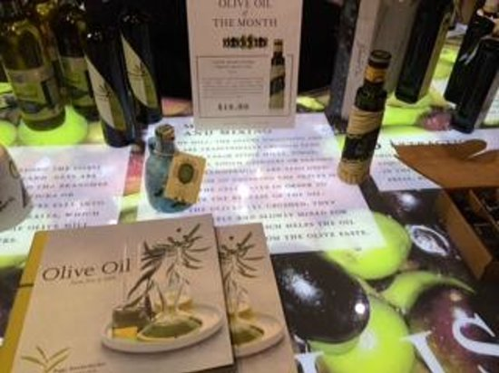Eataly : Olive Oil island was terrific!