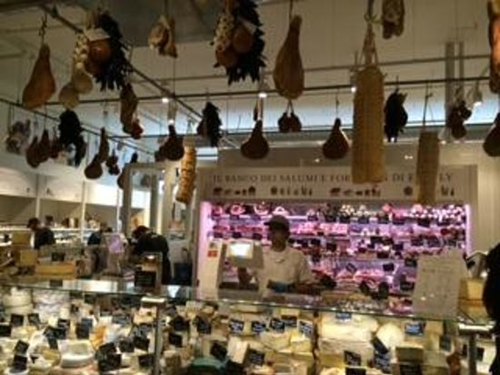 Eataly : Couldn't believe the vast offerings in their deli sections.