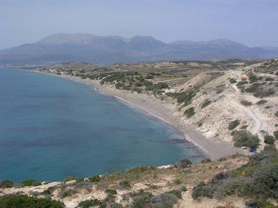 Matala beach : l'altro lato di Matala