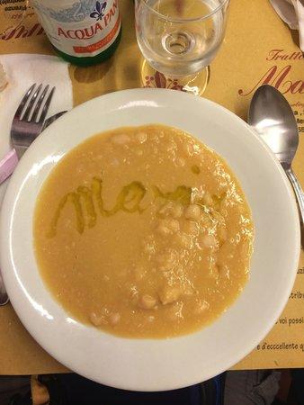 Trattoria Mario : Bean Soup