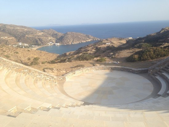 Skala Hotel: Beautiful amphitheatre a minute walk from the hotel