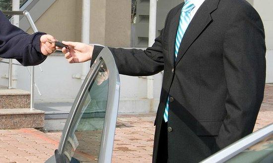 Hotel Aladino: Valet Parking